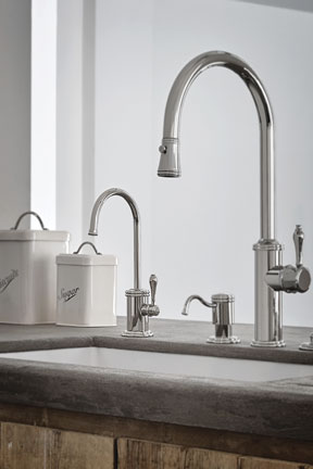 ... Water Dispenser With Finished Blade Lever · Davoli Series Kitchen  Collection Ensemble ...