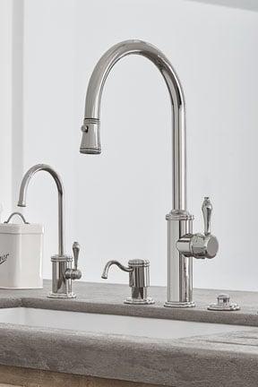 Kohler Artifacts Kitchen Faucet Polished Nickel