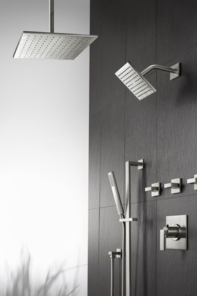 Square 6 And 12 Ultra Thin Showerheads