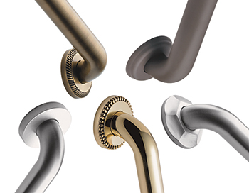 Decorative Grab Bars - Product Release Photo