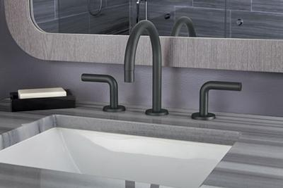 California Faucets Makes Urban Chic Statement With Matte Black Finish