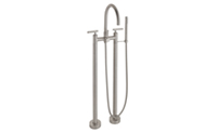 Multi-Series Contemporary Floor Mount Tub Filler