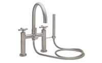 Asilomar ® Contemporary Deck Mount Tub Filler
