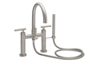 Multi-Series Contemporary Deck Mount Tub Filler