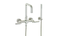 Bolsa ® Contemporary Wall Mount Tub Filler