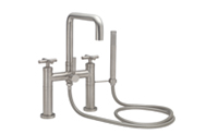 Tiburon Contemporary Deck Mount Tub Filler