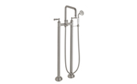 Multi-Series Traditional Floor Mount Tub Filler