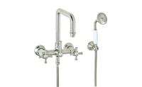 Hermosa ® Traditional Wall Mount Tub Filler
