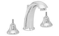 High Spout Widespread Faucet Less Handles