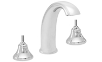 High Spout Roman Tub Set Less Handles