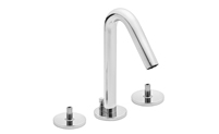 Contemporary Widespread Faucet Less Handles