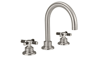 "Descanso® Bath 8"" Widespread Lavatory Faucet with Carbon Fiber Handle"