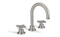"Descanso® Bath 8"" Widespread Lavatory Faucet with  Knurled Handle"
