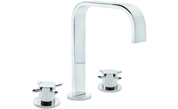 "Jalama 8"" Widespread Lavatory Faucet with 2-1/4"" Diameter ZeroDrain<sup>&reg;</sup>"
