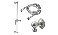 Monterey Slide Bar Handshower Kit - Lever Handle with Hex Base