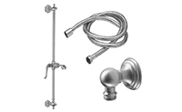 Solana Slide Bar Handshower Kit - Lever Handle with Bead/Line Bases