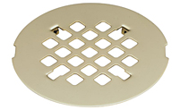 Deluxe Shower Drain Trim Grid