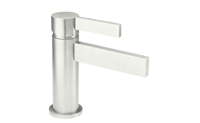 "Bel Canto Single Hole Lavatory Faucet with 2-1/4"" flange ZeroDrain®"