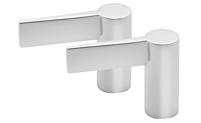 Metal Lever Handle Pair