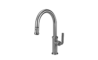 Descanso® Kitchen Pull-Down Kitchen Faucet - High Spout
