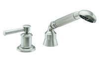 Miramar Cobra Handshower & Diverter Trim Only for Roman Tub