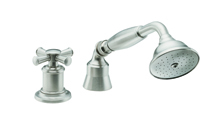Miramar Traditional Handshower & Diverter Trim Only for Roman Tub