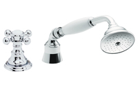 Multi-Series Traditional Handshower & Diverter Trim Only for Roman Tub