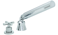Tiburon Contemporary Handshower & Diverter Trim Only for Roman Tub