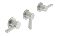 Bel Canto 3 Handle Tub and Shower Trim Only