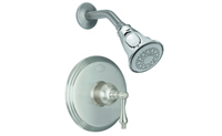 Pressure Balance Shower Trim Metal Lever Handle