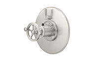 Steampunk Bay™ StyleTherm Round with Single Volume Control - Wheel Handle