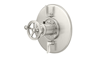 Steampunk Bay™ StyleTherm Round with Dual Volume Control - Wheel Handle