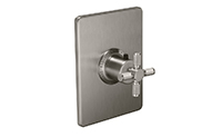 "Descanso® Bath StyleTherm® 3/4"" Thermostatic Trim Only - Knurl"