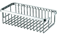 Deep Rectangular Shower Basket - Medium