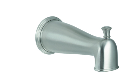 multiseries traditional diverter tub spout for pressure balance