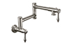 Pot Filler - Dual Handle Wall Mount - Traditional (K10-200-42) - Image 1