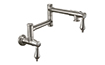Pot Filler - Dual Handle Wall Mount - Traditional (K10-200-55) - Image 1