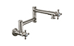 Pot Filler - Dual Handle Wall Mount - Traditional (K10-201-47) - Image 1