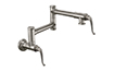 Pot Filler - Dual Handle Wall Mount - Traditional (K10-201-50) - Image 1