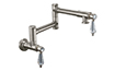 Pot Filler - Dual Handle Wall Mount - Traditional (K10-201-69) - Image 1