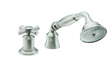 Traditional Handshower & Diverter Trim Only for Roman Tub (TO-48X.13M.20) - Image 1