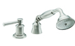 Traditional Handshower & Diverter Trim Only for Roman Tub (TO-48.13M.20) - Image 1