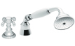 Traditional Handshower & Diverter Trim Only for Roman Tub (TO-67.13.20) - Image 1