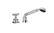 Industrial Handshower & Diverter Trim Only for Roman Tub - Blade Handle (TO-85B.15.20) - Image 1