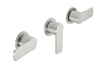 3 Handle Tub and Shower Trim Only (TO-E403L) - Image 1