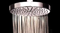 "8"" Contemporary Self-Cleaning Showerhead (SH-165.FR) - Video 2"